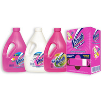 3pack Quitamanchas Líquido 4l+1 Dispensador Jabón 6pz Vanish