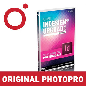 Dvd Curso Indesign Fabiana Go Video Aulas Photopro Original
