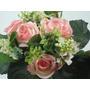 Buquê De Noiva Campestre Provençal Rosas Arranjos Casamentos