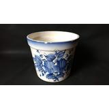 Vaso Cahet Pot Antiguidade Louça Pintada Decorção Disponivel