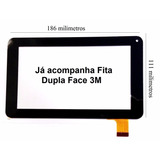 Tela Touch Screen Vidro Tablet Mirage 41t Quadcore
