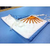 Bandera Argentina 220x400cm Reforzada Oficial