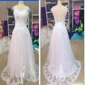 Vestido De Noiva Tamanho M Pronta Entrega
