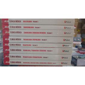 Coleção Sic R3 Clinica Médica 8 Vol. Novos Na Caixa Medcel