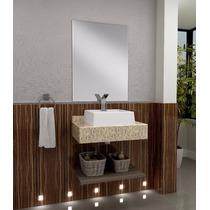 Bancada Para Banheiro Oroch Com Tampo Em Granito Natural