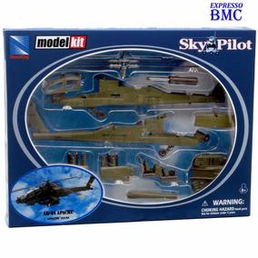 Helicóptero Apache Ah-64 Escala 1:60 New-ray #25525