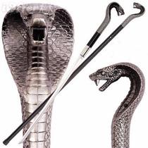 Bengala Com Espada Cajado Cobra Rei Naja 92cm
