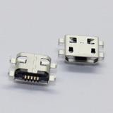10 Piezas Conector Micro Usb Centro De Carga Alcatel Ot6030