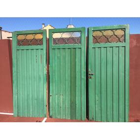 Portón De Garage De Chapa De Tres Hojas. Usado