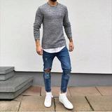 (temporariamente Esgotado)calça Jeans Calvin Klein Skinning