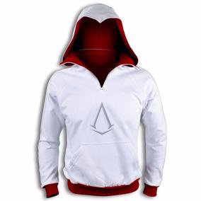 Sudadera Tipo Assassin White Dark Envío Gratis !!! Creed