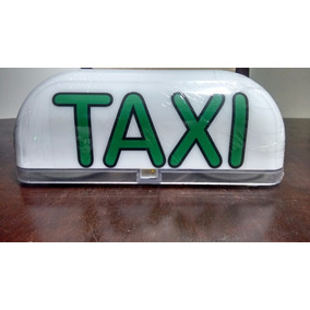 Taxi Luminoso De Led