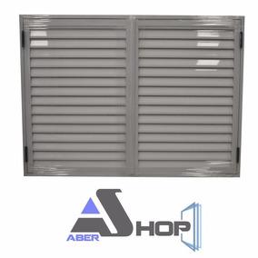 Postigon Aluminio 150x110 De Abrir 2 Hojas Abershop