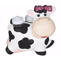 Vaca Bebe Porta Paliteiro Saleiro Enfeite Cozinha #1355#