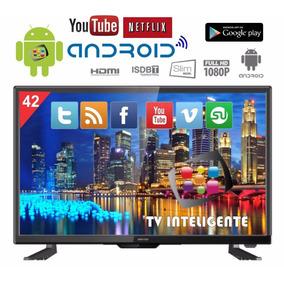Smart Tv Led Full Hd 42 Pol Nova Com Netflix Youtube 3hdmi