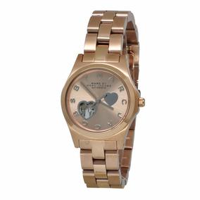 Reloj Dama Marc Jacobs Henry En Caja Mbm9713 Envío Gratis