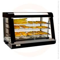 Vitrina Exhibidor Caliente Sobre Mostrador Con Luz R60-1 Crt