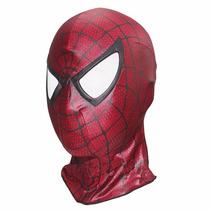 Homem Aranha Mascara Touca Cosplay Realista Spiderman