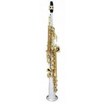 Sax Soprano Yanagisawa Profissional S9030 Maciço De Prata