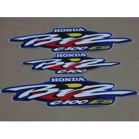Kit Adesivos Honda Biz 100 2001 Es 2001 Azul