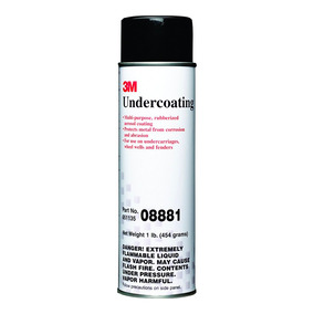 3m Anticorrosivo Negro En Spray 454g Automotriz 8881