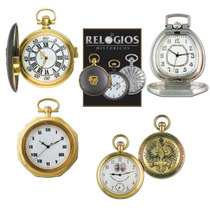 Lote Kit 4 Relógios De Bolso Históricos - Frete Unico