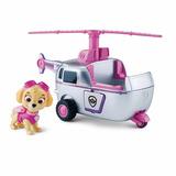Paw Patrol Vehiculo Y Figura Skye Zuma Rocky Rubble Marshall