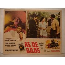 Antonio Aguilar , As De Oros , Cartel De Cine