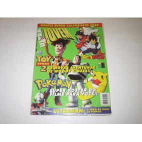 Ultra Jovem - Ano 1 - Nº 1 - Dragon Ball/toy Story 2/pokémon