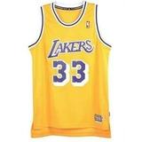 Camisa Basquete Nba Swingman Lakers #33abdul-jabbar