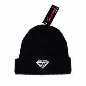 Touca Gorro Diamond Supply Co Logo Preta