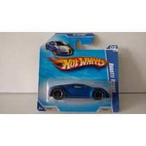 Hotwheels Bugatti Veyron Satin Tarjeta Corta