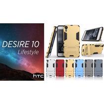 Funda Htc Desire 10 Lifestyle Alto Impacto + Cristal Templad