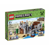 Lego Minecraft 21121 The Desert Outpost - Estoque No Brasil!