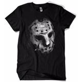 Camiseta Masculina Sexta Feira 13 Mascara Jason Filme Terror