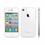 Iphone 4 Branco Ios 6, Wifi, 3g, 8gb - Apple 100% Original