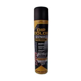 Tinta Spray Para Envelopamento Preto Brilhante Dip Color