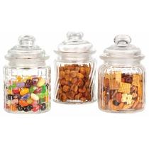 Frascos Carameleras De Vidrio Bomboneras Souvenir Candy Bar