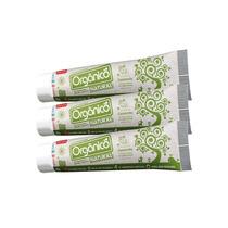 Pasta De Dente Natural Orgânico Sem Flúor (3 Unidades)