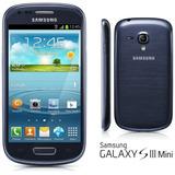 Carcaça Samsung Original Galaxy S3 Siii Mini I8190 Azul !!