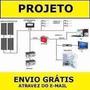 5 Projetos Gerador 3000w 5000w 1500w 1000w + Placa Solar