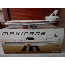 Avion Dc-10-15 De Mexicana Marca Inflight200 Escala 1:200