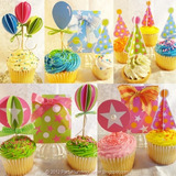 Toppers Personalizado Para Cup Cake
