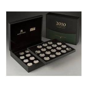 Monedas 5 Pesos Proof Centenario Bicentenario De Lujo