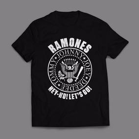 Camiseta Ramones Look Out Below Masculina