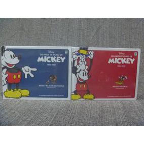 Os Anos De Ouro De Mickey 1930 - 1931 E 1931 - 1932 Lacrados