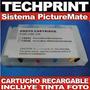 Cartucho Epson Picturemate Pm225 Recargable Autoreset