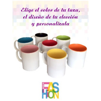 Taza 11oz Interior Color Personalizada
