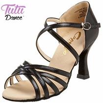 Sandalias De Baile Latino Capezio Color Negro