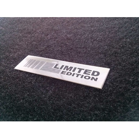 Emblema Em Metal Limited Edition Vw Golf Alta Qualidade